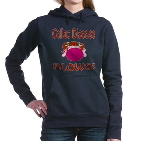 Celiac Disease Blows! Hooded Sweatshirt