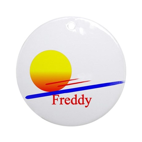 Freddy Ornament (Round)