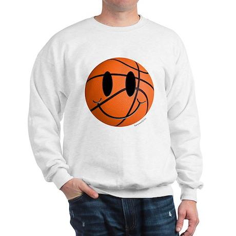 Basketball Smiley Sweatshirt