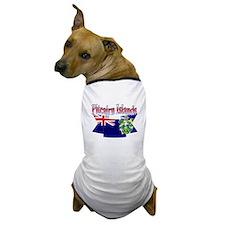 Pitcairn island flag ribbon Dog T-Shirt