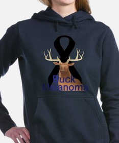 buck-melanoma.png Hooded Sweatshirt
