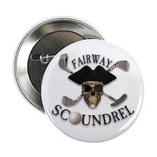 Golf Pirate Button