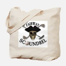 Golf Pirate Tote Bag