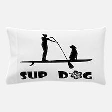 SUP Dog Sitting Pillow Case