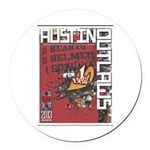 Austin Outlaws 2013 Round Car Magnet