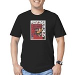 Austin Outlaws 2013 Men's Fitted T-Shirt (dark)