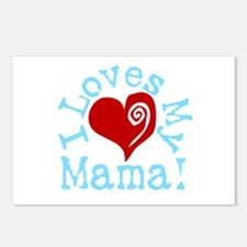 I LOVES My Mama! Postcards (Package of 8)