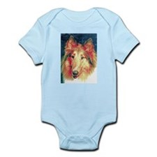 Painted sable collie Body Suit