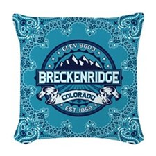 Breckenridge Ice Woven Throw Pillow