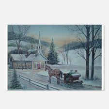 Silent Night-Charles Roy Postcards (Package of 8)