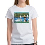Sailboats & Border Collie Women's T-Shirt