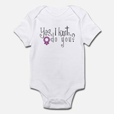 Women Knit Infant Bodysuit