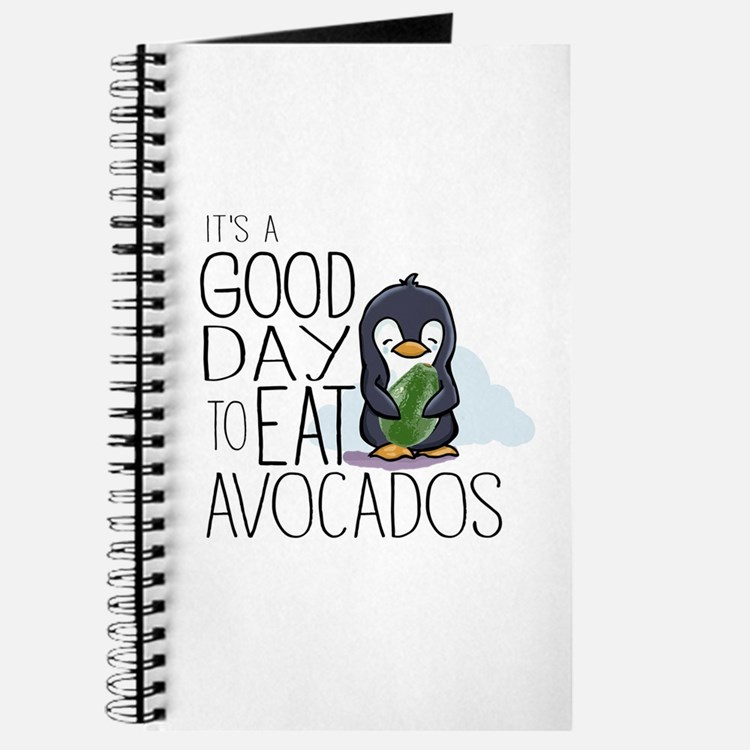 Its a Good Day to Eat Avocados Penguin Journal