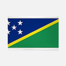 Solomon Islands flag Rectangle Magnet