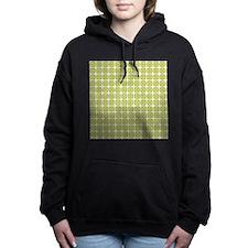 Eco Circle Pattern Hooded Sweatshirt