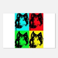 Pop Collie 2 Postcards (Package of 8)