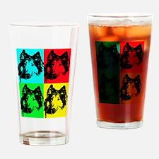 Pop Collie 2 Drinking Glass