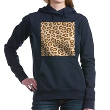Cheetah Animal Print Hooded Sweatshirt