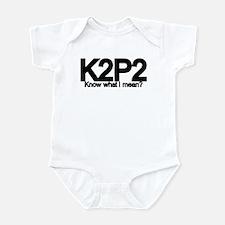 K2P2 Knit & Purl Infant Bodysuit