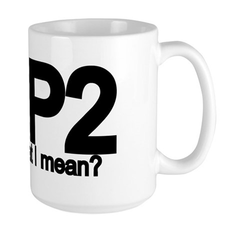 K2P2 Knit & Purl Large Mug