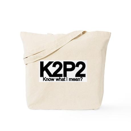 K2P2 Knit & Purl Tote Bag