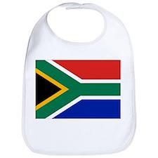 Cute South africa flag Bib