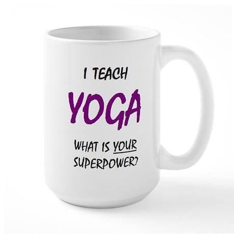 Teach Yoga Mugs