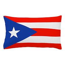 Puerto Rican Boricua Flag Bandera Orgullo Pillow C