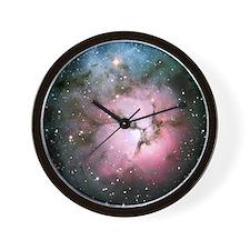 Galaxy nebula space stars hipster nasa  Wall Clock
