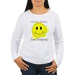 JUST FORGIVEN Women's Long Sleeve T-Shirt