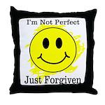 JUST FORGIVEN Throw Pillow
