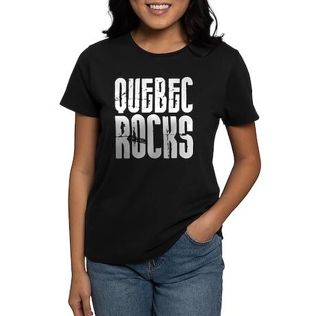 Quebec Rocks Women's Dark T-Shirt