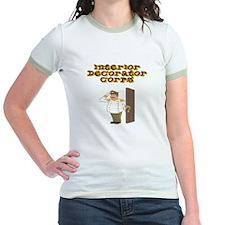Interior Decorator Corps Women's Ringer T-Shirt