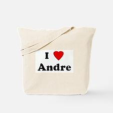 I Love Andre Tote Bag