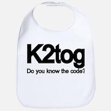 K2tog Knit Together Bib