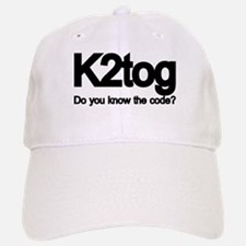K2tog Knit Together Baseball Baseball Cap