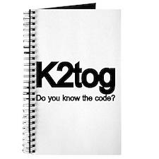 K2tog Knit Together Journal