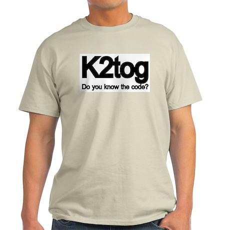 K2tog Knit Together Light T-Shirt