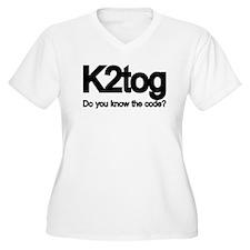K2tog Knit Together T-Shirt