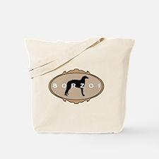Borzoi Dog Breed Tote Bag