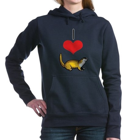 heart-otters.png Hooded Sweatshirt