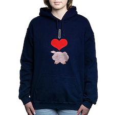 heart-pig.png Hooded Sweatshirt