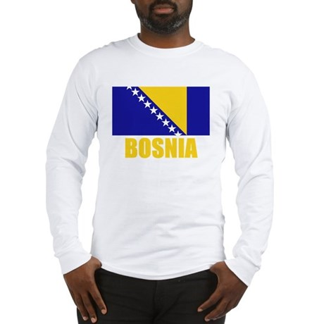 Bosnia Flag Long Sleeve T-Shirt