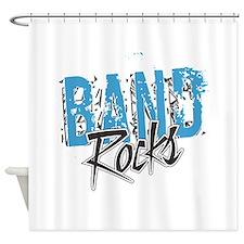 BAND Rocks Shower Curtain