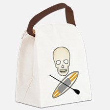 Skull Paddleboard Canvas Lunch Bag