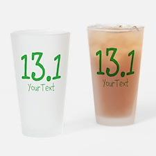 Customize GREEN 13.1 Drinking Glass