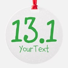 Customize GREEN 13.1 Ornament