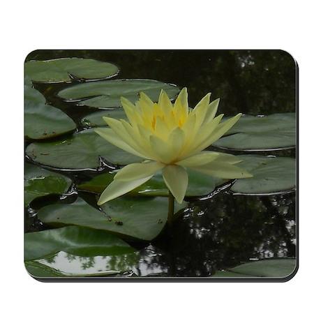 Yellow Lotus Mousepad