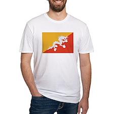 Bhutan Flag T Shirts Shirt