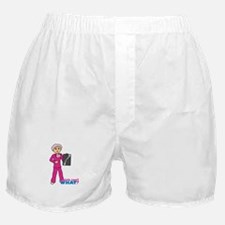 X-Ray Tech Medium Pink Scrubs Boxer Shorts